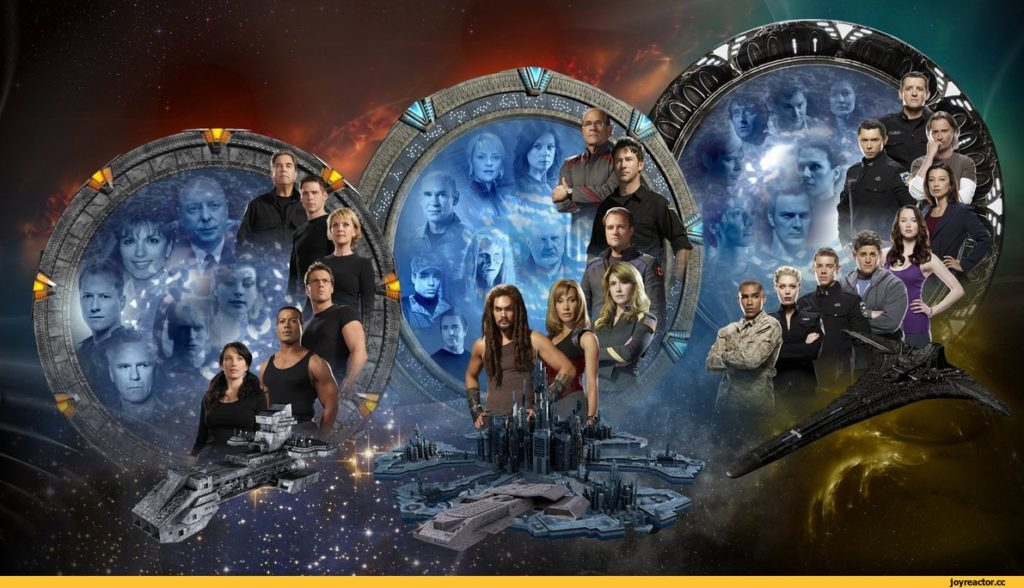 Серіал Зоряна брама: Атлантида, 2004-2009