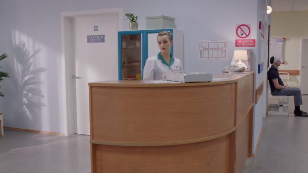 Кадр с телепроекта Практика.
